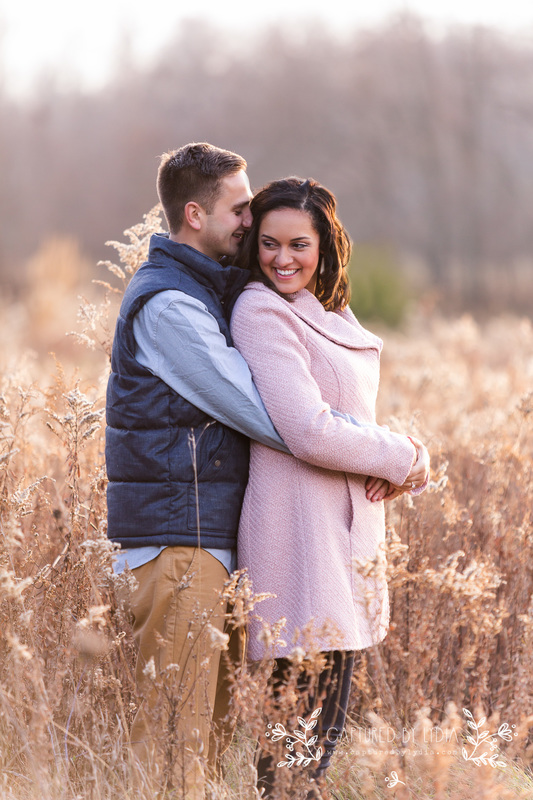 Engagement photography in Ohio