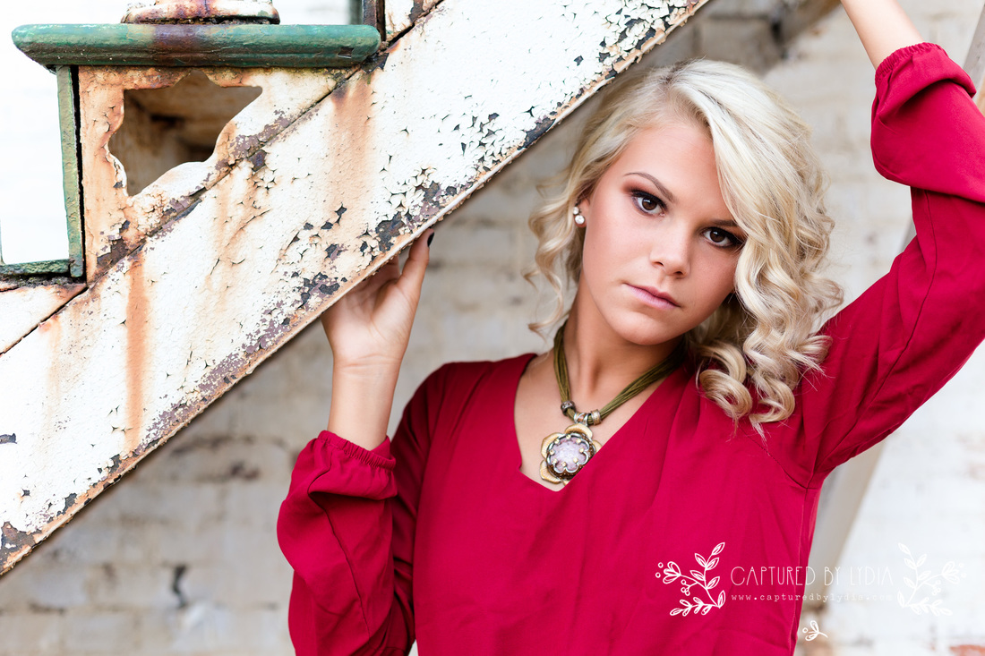 Northwest Ohio Senior photographer